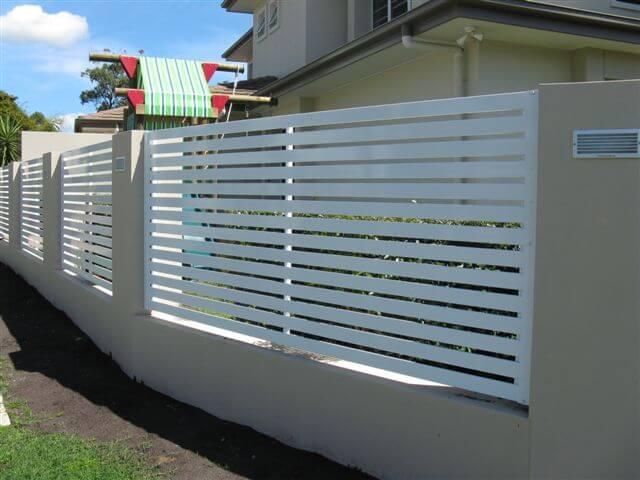 Well-liked Horizontal Slat Fence Panel - Brisbane Gates QE95