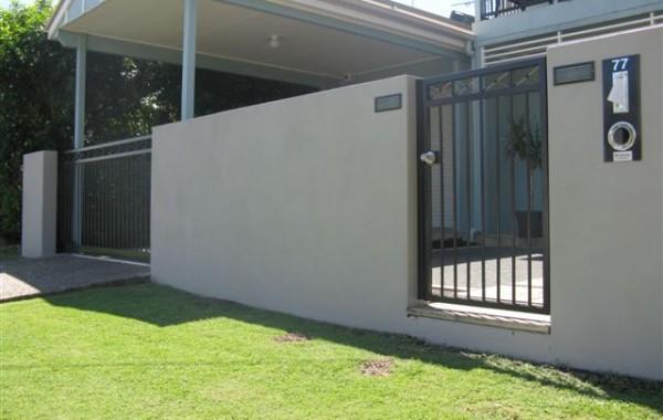 Maleny Pedestrian Gate & Slider