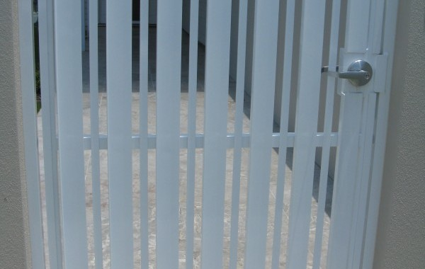 Vertical Slat Ped Gate