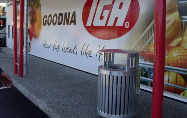 Waste Bin Gooda IGA