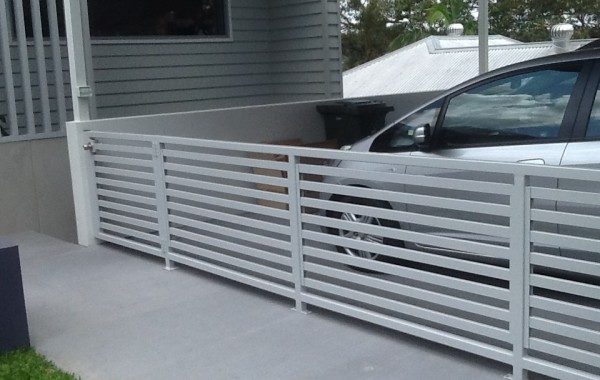 Carport Enclosure Horizontal Slat